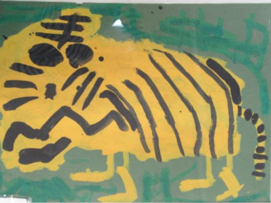 強くて大きなトラ