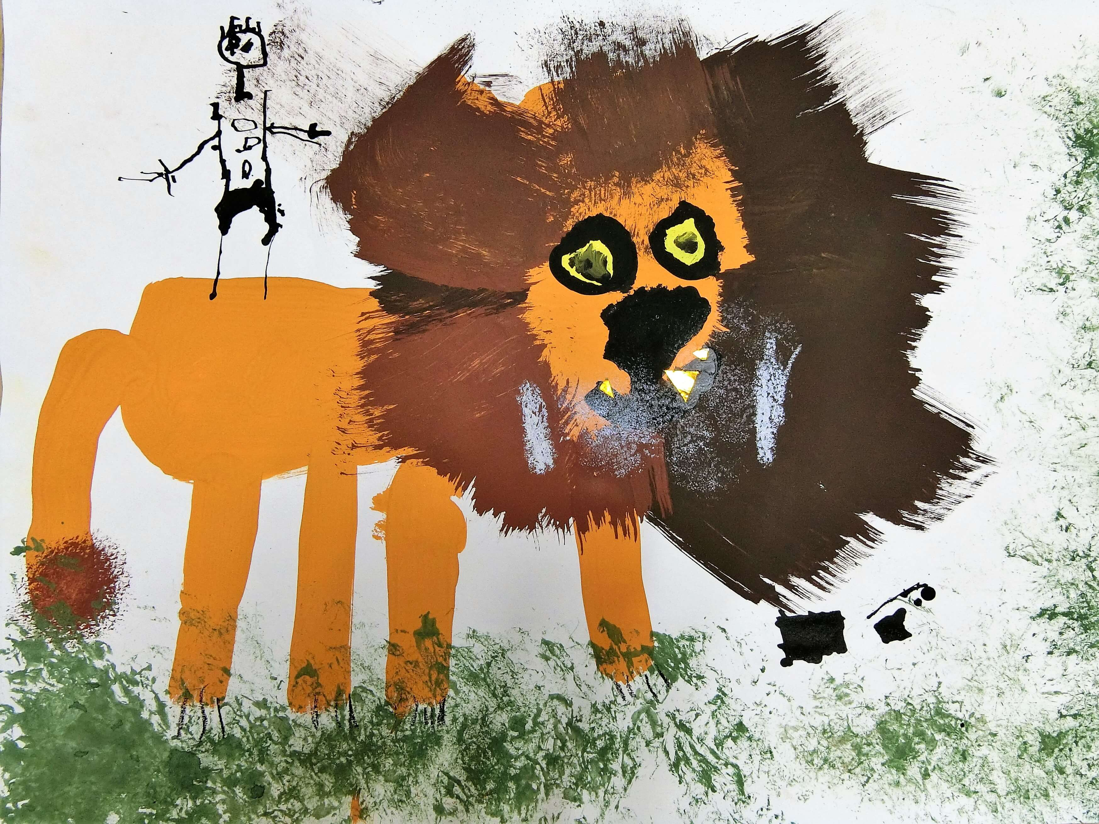 動物の王様ライオン