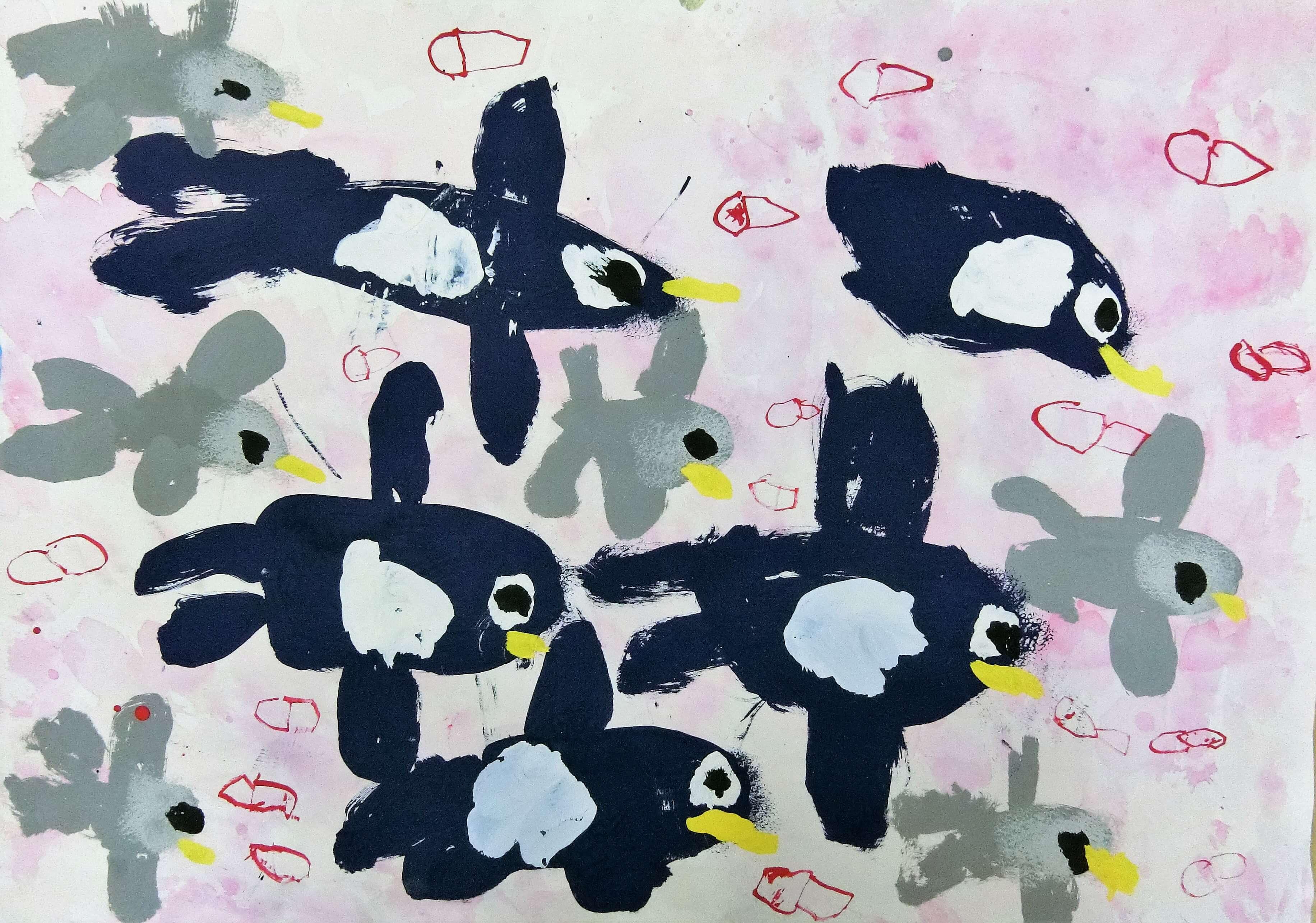 みんな大好きペンギン