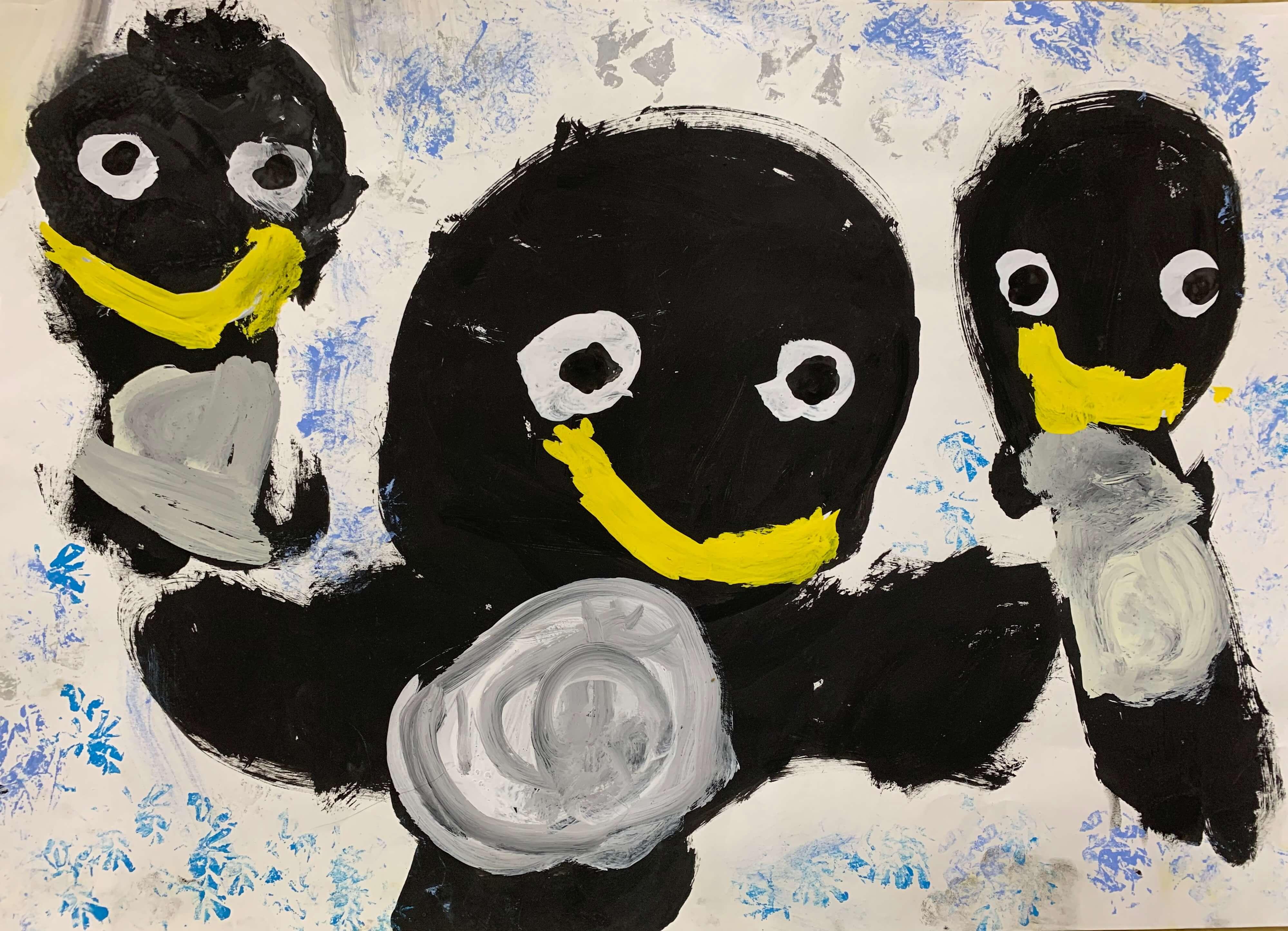 みんな仲良しペンギンちゃん